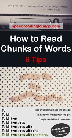 Chunking words: Learn to read words groups Reading Habits, Reading Tips, Reading Groups, Reading Strategies, Reading Activities, How To Read More, How To Read Faster, Learn Faster, Learn To Read