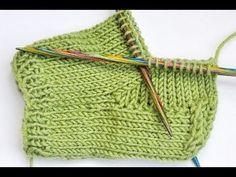 Knitting Patterns Socks Sock knitting * Sock course # 6 * Classic heel with heel cup Crochet Shoes, Knit Crochet, Knitting Patterns, Crochet Patterns, Knitted Slippers, Patterned Socks, Knitting Videos, Baby Socks, Knitting Socks