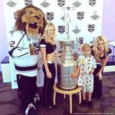 LA Kings, Stanley Cup Bring Smiles, Excitement To Patients, Families, Staff At Children's Hospital LA: 2014 Edition – In Photos