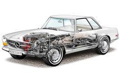MERCEDES-BENZ 280SL - 山田ジロー - ギャラリー | オートカー・デジタル - AUTOCAR DIGITAL