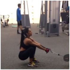 From @mariza_villarreal #Squat variation. I'm using a V-Bar on a cable machine. The weight is pretty heavy. Remember to squeeze your butt at the top of the exercise. I did 4 sets 25 reps #fitness #Teamfitness #motivated #determined #fitnessmotivation #shredzarmy #Shredz #fitnessmotivation #TrainingFollow