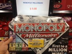 HOT! Walmart Monopoly Millionaire Game is Just $4.88 after Coupon!