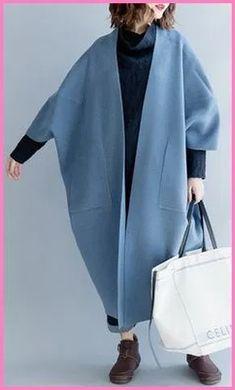 trendy plus size wild trench coat Elegant big pockets long coat na moda plus size casaco selvagem elegante bolsos grandes casaco longo Trench Coat Outfit, Coat Dress, Kimono Coat, Long Trench Coat, Camel Coat, Shirt Dress, Moda Plus Size, Trendy Plus Size, Casual Outfits