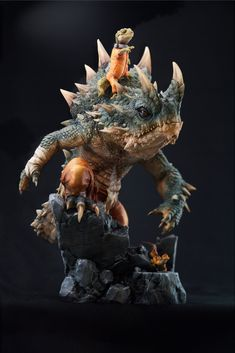 (2) Media Tweets by Sagata Kick WF8-34-05 (@avenger_ken) / Twitter Creature Concept Art, Creature Design, Clay Monsters, Fantasy Dragon, Fantasy Miniatures, Character Modeling, Fantasy Creatures, Cartoon Art, Sculpture Art