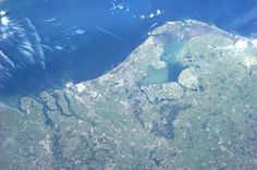 The Netherlands.  Taken July 7, 2013.  KN from space.