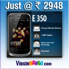 Buy Fly Mobile E350-Black only at Rs.2948 Online in India  An Authentic online Megamart has 500+ Brands & 18000+ products.  A SHOPPING THAT DELIVERS SMILE.