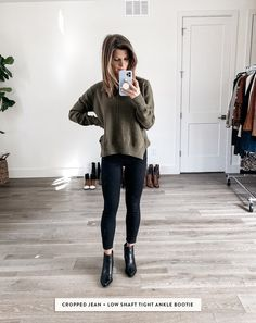 Dec 2019 - Talking about how to wear ankle boots and giving you oodles of outfit inspiration from wearing ankle booties with leggings to cuffed jeans and more! Ankle Boots Outfit Summer, Ankle Boots With Leggings, Best Ankle Boots, How To Wear Ankle Boots, Ankle Boots Dress, Wedge Ankle Boots, Dress With Boots, Jeans And Boots, Bootie Boots