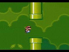 Twitch Streamer Transforms Super Mario World Into Flappy Bird Using Only SNES Hardware