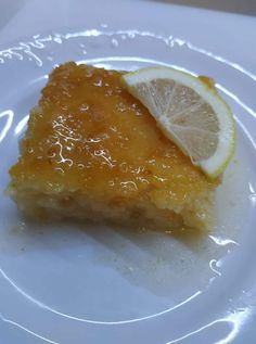 Almond Coconut Cake, Greek Pastries, Greek Desserts, Recipies, Food And Drink, Pudding, Sweets, Fish, Cooking