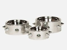 Spiked Dog Bowls from Unleashed Life - Dog Milk