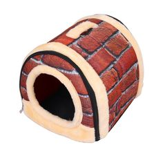 Fancybay Portable Brick Dog House, Warm And Cozy Indoor/Outdoor Pet Bed Nest , Great For Dogs, Cats, Puppies, and Rabbits *** Find out more about the great product at the image link.
