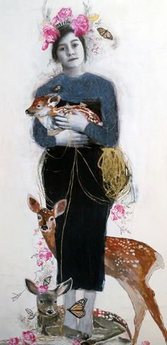 Dominique Fortin   Artiste peintre   Mues