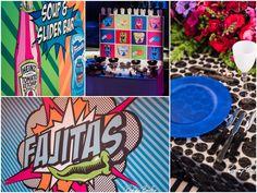 Fajitas   Sliders   Food Stations   Pop Art Party   Sweet Sixteen   Birthday Party   Colorful   Steel Stacks   Pennsylvania   Rodney Bailey Photojournalism   Magnolia Bluebird design & events   Washington D.C.