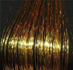 Tinsel hair for gods - Modern Overprocessed Hair, Hair Tinsel, God, Hair Styles, Modern, Hair Decorations, Dios, Hair Plait Styles, Trendy Tree