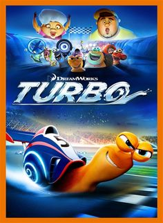 Turbo movie -- cute movie! Watched this over the weekend with my monkies...it was such a cute movie and when they wanted to watch it again the next day...i didn't object :)