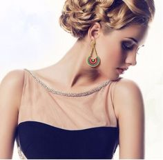 These exquisite bohemian danglers will make you stand out in the crowd!