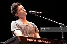 Danny O'Donoghue of The Script performs on stage during the 2011 Z100 &…