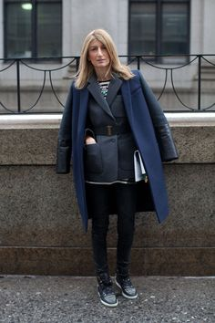 In a winter style rut? Click through to see some street style inspiration for the cold weather.