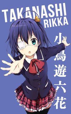 Takanashi Rikka ~ Korigengi | Wallpaper Anime