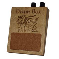 Volume and Tone Control Stompbox Rhythm Foot Drum Stomp box Cigar Box Guitar. $34.90, via Etsy.