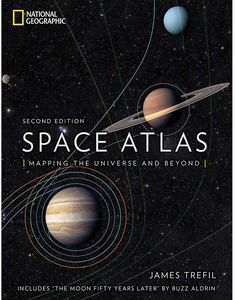 Disney Space Atlas: Mapping the Universe and Beyond Book National Geographic