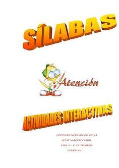 SÍLABAS - ACTIVIDADES INTERACTIVAS - CURSO 15-16