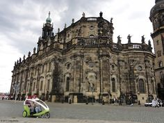 Dresden Cathedral makes a stunning impression in the Baroque Old Town. #Germany ©2013 Craig Martin