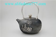 Handmade 999 Fine Silver Teapot-20,www.alifashion777.com wholesale Handmade 999 Fine Silver Teapot with high quality and low price.wholesale handmade the Silver teapot 999 fine silver for the business gift! we design and processing of personalized jewelry, jewellery for men, women jewelry, sterling silver jewelry, handmade jewelry. please contact us: skype: alifashion777 . whatsapp: 0086-186-8780-0583 if you have any question.
