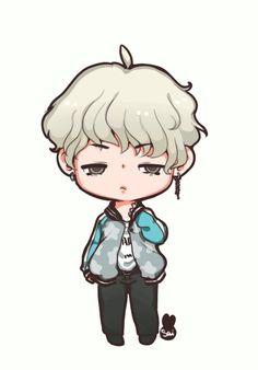 Smol Chibi Yoongi for Animated found: Chibi BTS Suga 2018 Bts Chibi, Bts Suga, Sketch Mouth, Boy Gif, Fanart, Cartoon Boy, Demon Girl, Kawaii, Yoongi