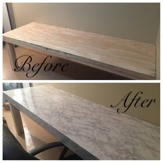 Instant Peel and Stick Countertop White Faux Marble Granite Not Contact Paper Self Adhesive Film for Kitchen Counters Bathroom Backsplash