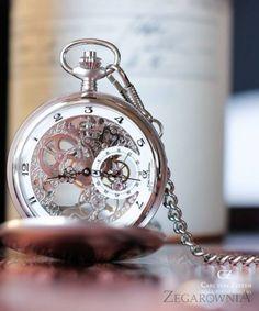 Carl von Zeyten CVZ0039WH - zegarek Bräg Kieszonkowy Pocket Skeleton Mechanical • Zegarownia.pl Skeleton, Pocket Watch, Paris, Watches, Retro, Accessories, Wristwatches, Neo Traditional, Skeletons