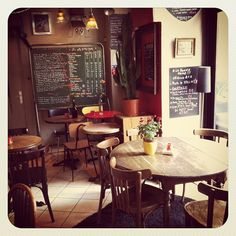 cozy cafe in Paris