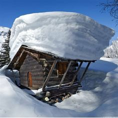 Winter in the mountain - Tél a hegyekben Tenda Camping, Camping 3, Bushcraft Camping, Camping Outdoors, Share Pictures, Beautiful Places, Beautiful Pictures, Wonderful Places, Little Cabin
