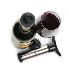 High-Quality-FastOVacuum-Wine-Preserver-Wine-Saver-Pump-FREE-eBook-2-Stoppers-Lifetime-Guarantee-Save-your-leftover-wine-for-another-time-0-2