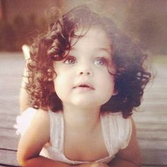 Cutest little girl! I hope that's what our little girl's curls look like=)