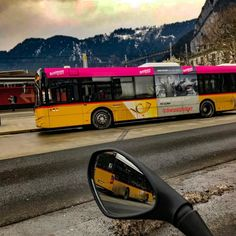 When #travelling by #bmw #motorcycle in #winter  it can happen that you meat #jamesbond #007 how he travels by #publicbus called #postauto. Probably he may also take the #swiss #railway #train called #sbb #cff #ffs. The new #publictransport #station @myinterlaken looks great!  You would love it to #travel #switzerland! Either by one of those #motorcycles or by #bus or by the #swissrailway. Its called #swisstravelsystem @swisstravelsystem @postauto_carpostal_autopostale @sbbcffffs