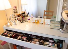 Dressing Table- ooh I want one! With makeup included of course