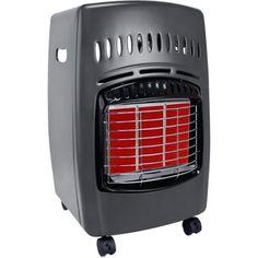 Comfort Glow Cabinet Propane Heater, Black