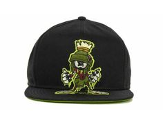 e9788ee50e6 My custom drawn Zombie Marvin the Martian hat I drew up! Available at Lids!