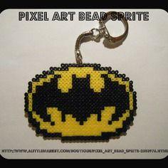 Porte clés logo batman - dc comics - bead sprite