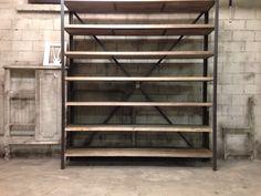 Book Shelf by Custom Wood (Finland). Reclaimed Furniture, Custom Wood, Household Items, Furnitures, Finland, Coffee Shop, Shelf, Restaurant, Book