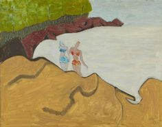 Sally Michel-Avery - [Bathers on the Rocks] | 1stdibs.com