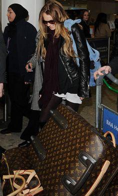 Pretty Portobello: Celebrity luggage