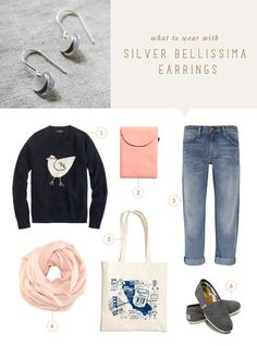what to wear {silver bellissima earrings} elephantine Cute Outfits With Jeans, Stylish Outfits, Fashion Outfits, Weekend Outfit, Weekend Wear, Mommy Style, Style Me, Shoes Style, Types Of Fashion Styles