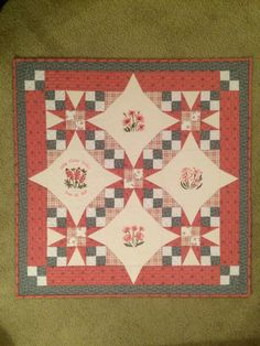 Tennessee Waltz Quilt - gift for my office manager's first grandchild. Finished October 2014.