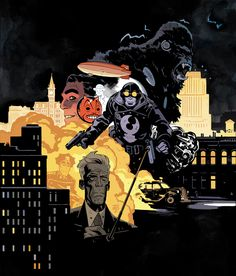 Lobster Johnson — tonci zonjic