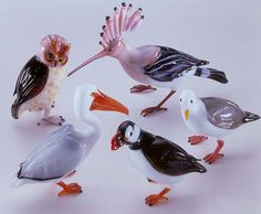 Works by Glass Master Vittorio Costantini
