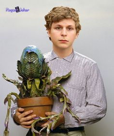 Michael Cera would be the perfect Seymour if they remade Little Shop of Horrors!!! ;D ^^^yeah except he can't sing you loser
