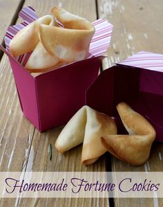 Homemade Fortune Cookies | The Good Hearted Woman