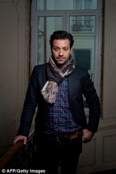 Canadian musician Adam Cohen, son of Canadian singer Leonard Cohen, poses on November 15, 2011 in Paris